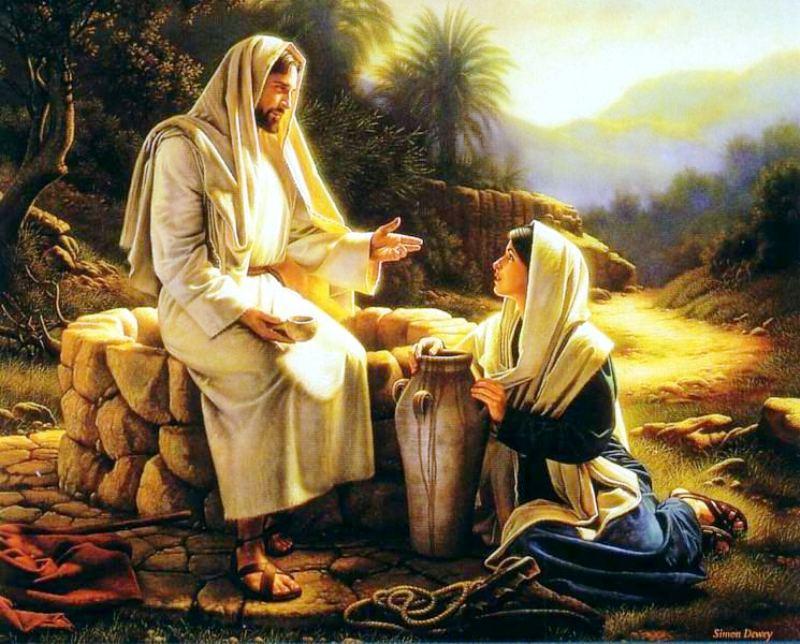 """Képtalálat a következőre: """"""""jézus és a samáriai asszony"""""""""""